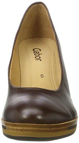 Gabor Damen Fashion Pumps Braun (28 Mocca)