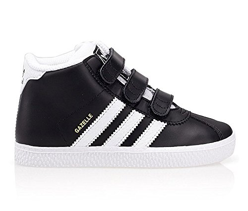 size 40 01dea 9c95b adidas New Boys Junior Originals Gazelle Mid Black Short ...