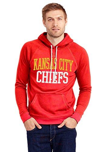 Junk Food Kansas City Chiefs Half Time Mens Hoodie Small