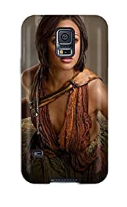 Premium IZNypvi4961cdNhF Case With Scratch-resistant/ Spartacus Vengeance Naevia Lesleyann Brandt Tv Seasons People Movie Case Cover For Galaxy S5
