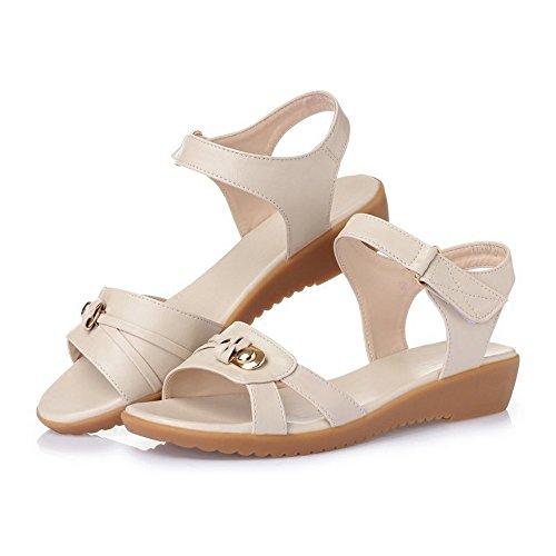 BAJIAN oras Peep Verano Toe Sandalias LI se Bajos Alto heelsWomen Zapatos Zapatos Chanclas Sandalias qFqXvfrHw