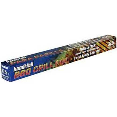 Handi Foil BBQ Grill Roll Foil, 18 inch x 25 Feet -- 24 per case.