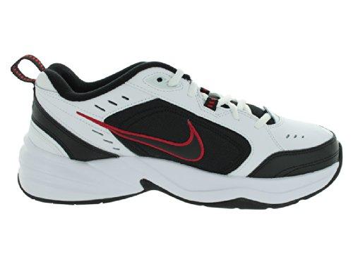 Para hombre Aire Monarch Iv las zapatillas de running White/Black/Varsity Red