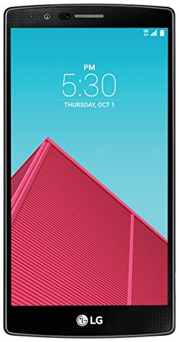 LG G4 Unlocked Smartphone with 32GB Internal Memory, 16 MP Camera and 5.5-Inch IPS Quantum Display for GSM and CDMA, US Warranty (Black Leather)
