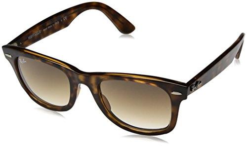 Ray-Ban RB4340 Wayfarer Ease Sunglasses, Light Tortoise/Brown Gradient, 50 ()
