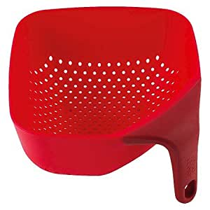 New ® Square Colander Red (Small)