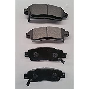 Stirling Both Left and Right SMD1679 Semi Metallic Disc Brake Pads Set - Rear