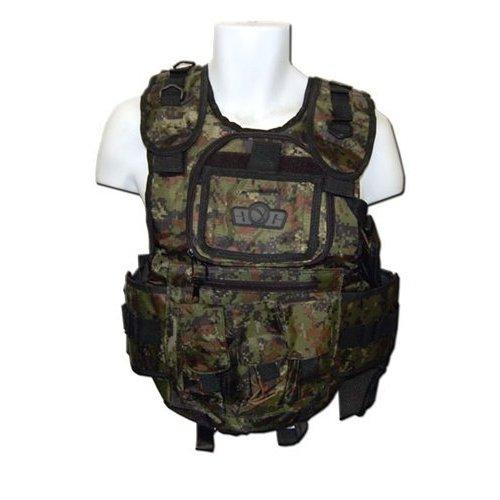 GxG Deluxe Tactical Paintball Vests (Digi Green)