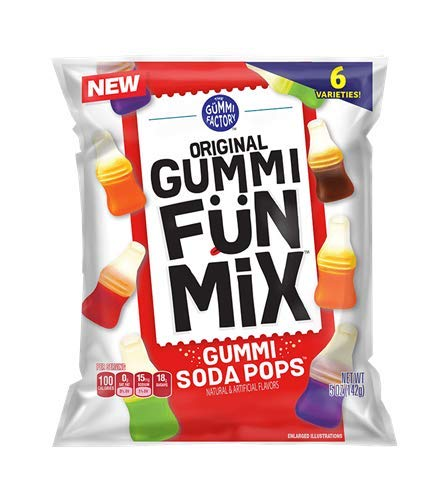 Gummi Fun Mix Gummi Soda Pops - 3 Bags]()