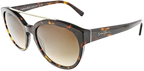 Giorgio Armani AR8086 502613 Dark Havana AR8086 Cats Eyes Sunglasses Lens Categ -