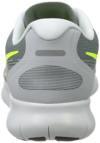 Nike Mens Free RN 2017 Running Shoes (12, Grey/Lime-M)