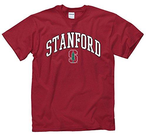 (Stanford Cardinal University Arch & Tree T- Shirt)