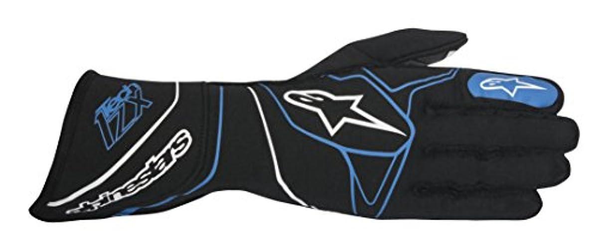 [해외] ALPINESTARS(알파인 스타의) 글러브 TECH 1-ZX GLOVES BLACK/BLUE M 3550117-17-M