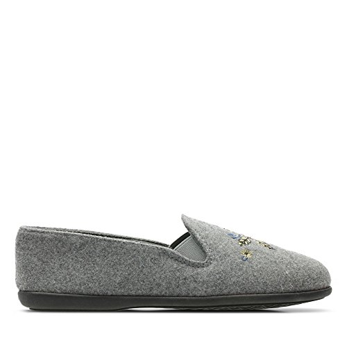Clarks Gris Pour Chaussons Clarks Femme Chaussons TdxBw4ZqZ