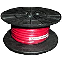 4 GUAGE POWER WIRE (RED) 50 ROLL
