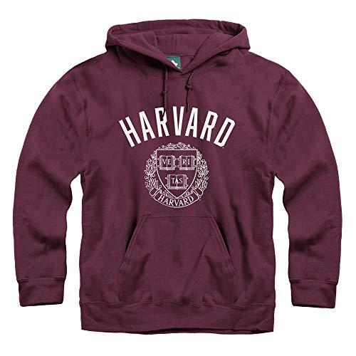 Ivysport Harvard University Hooded Sweatshirt, Legacy, Crimson, X-Large