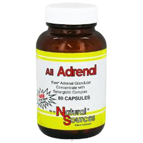 Natural Sources All Adrenal Capsules, 60