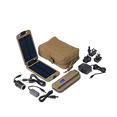 Power Traveller Powermonkey Extreme Tactical 9000mAh Btry with Coyote Pouch