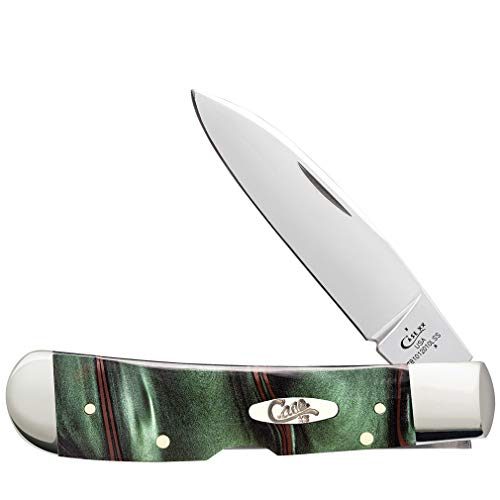 Case Knives DISC Junlge Camo Kirinite Tribal Lock Green