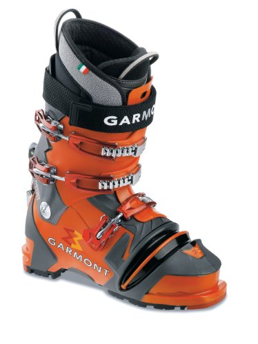 Garmont Prophet NTN Ski Boot (Orange/Anthracite, 25.0 Mondo)