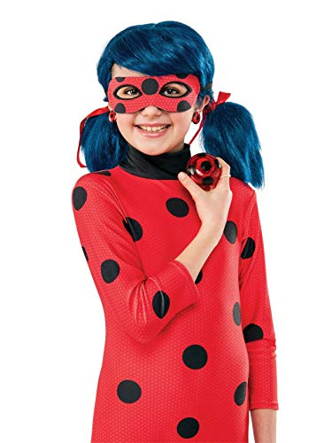 Rubie's Costume Miraculous Ladybug Yo-Yo and Clip-On Earrings (Ladybug Accessories)