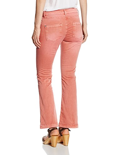 s.Oliver 5-Pocket, Pantalones para Mujer Rojo (rusty red 3847)