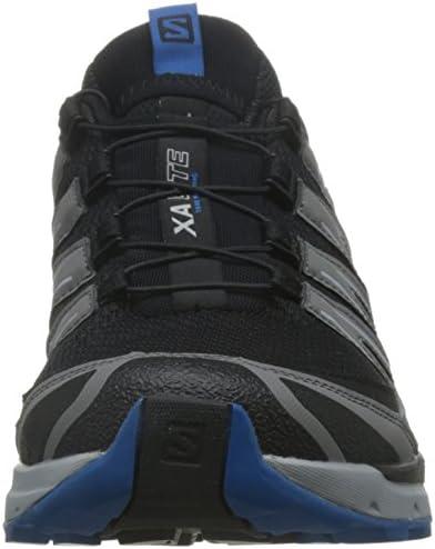 トレイルランニング シューズ XA LITE (エックスエー ライト) メンズ Black/Quiet Shade/Imperial Blue 27.0cm