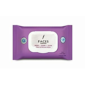 FACES Fresh Clean Glow Makeup Remover Wipes (30 Count)