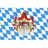 Bayern Fahne Königreich Bayern Grösse 1,50x0,90m - FRIP –Versand®