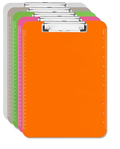 Clipboard Clear Smoke Orange Green