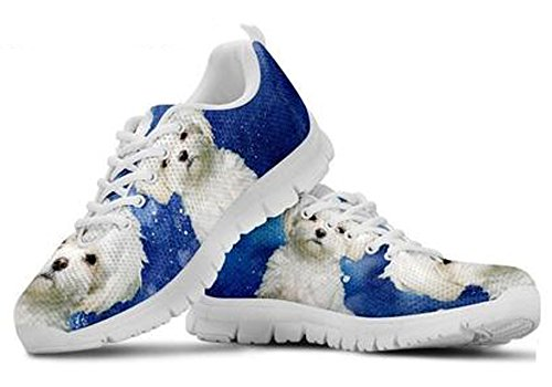 Cute Sneakers 5 Maltese Men's Print Brand Dog Casual 4YdBq4Sx