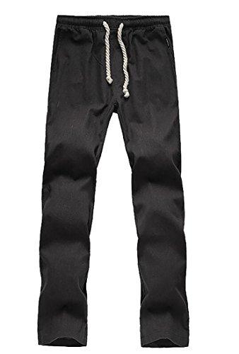 Washed Linen / Cotton Pants - 4