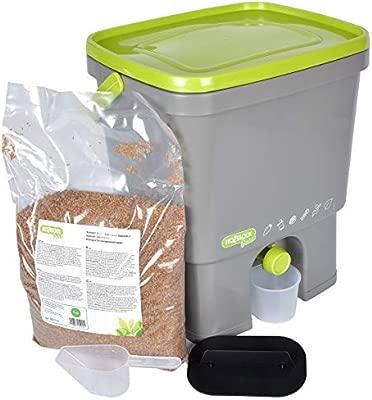 Hozelock Compostador 16 litros + 1 kg de activador Bokashi ...