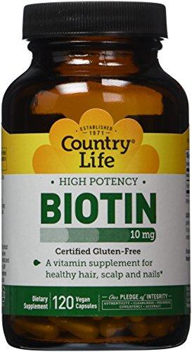 Biotina alta potencia 10 mg Veg 120 Caps