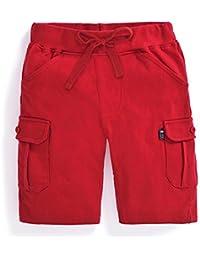 JoJo Maman Bebe Red Cargo Shorts