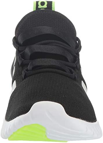 41cM3cS7GyL. AC adidas Men's Kaptir Running Shoe    Play hard or take it easy. These adidas running-inspired shoes are ready for anything. The mesh upper offers a sock-like feel. Soft cushioning means comfort when you explore a street fair or head out of town for the weekend.