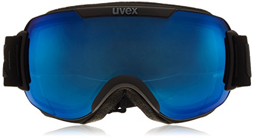 Masque de ski Downhill2000 Uvex, unisexe Noir mat