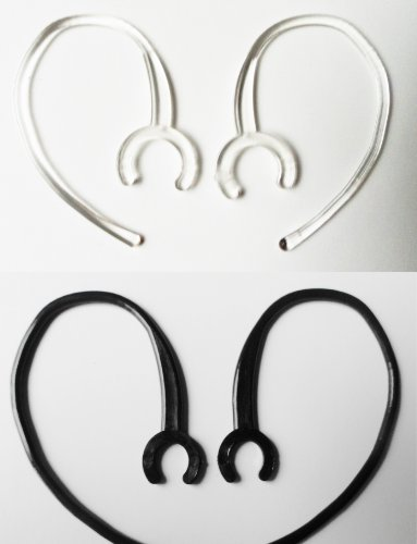 2xlc-2xsb USA Made Bluetooth Ear Hook Loop Clip Repair Kit Universal Small and Large Clamp replacement Fits 90% of Headsets Made Including Most Motorola, Lg, Samsung, Jabra, Plantronics, Ps3 and Many