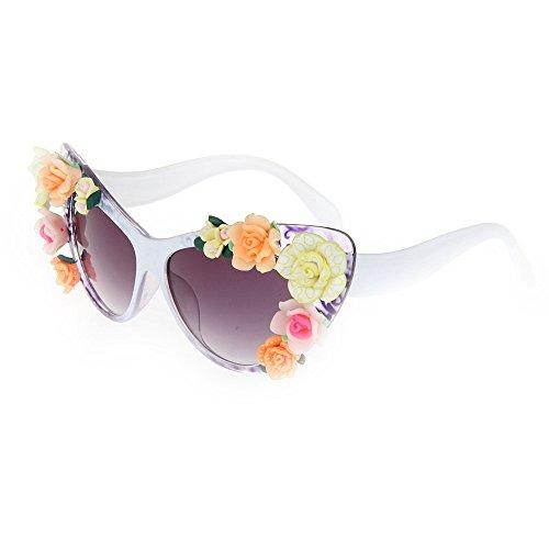 a gato de de mano de de de sol arcilla de ojos la Gu la flor Peggy los de Gafas de de hechas polímero Gafas verano vacaciones de del coloridas playa de sol sol las UV la Gafas protección nqHYnSECw4