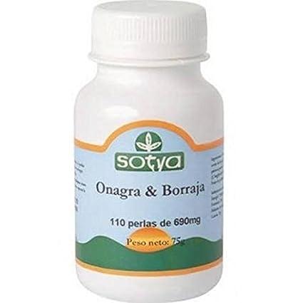 Maxi Omega 6 (Onagra y Borraja)  110 perlas de 700 mg de Sotya
