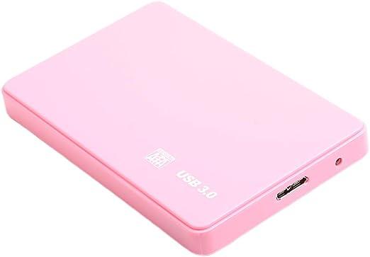gazechimp 外付け ハードドライブ USB 3.0 2.5インチ HDD エンクロージャケース 高速 ABSプラスチック - 2T