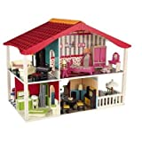 Cherry Hill Dollhouse w/ Bonus Set of Furniture