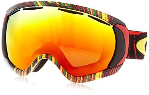 Oakley Canopy Ski Goggles, Stumped Rasta/Fire Irid