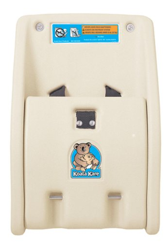Bobrick KB102-00 Koala Kare High Density Polyethylene Wall Mounted Child Protection Seat, Cream Finish, 12-1/4