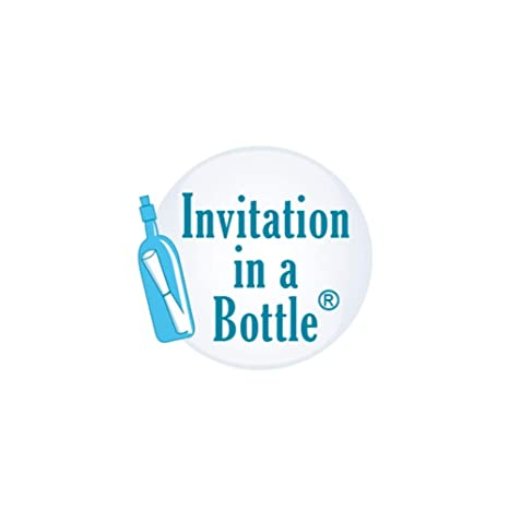 amazon com 20 beach theme message in a bottle invitations glass