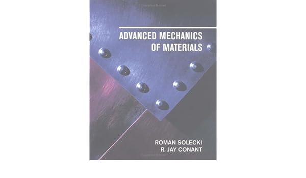 advanced mechanics of materials free ebook