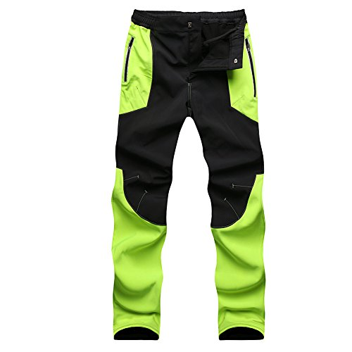 Gorgerous Men's Insulated Fleece-Lined Soft-Shell Pants - Water-Repellent, Wind-Resistant