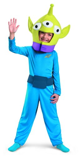 Alien Classic Costume, Child (3T-4T)