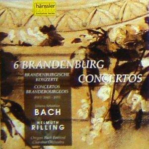 Price comparison product image Bach: 6 Brandenburgische Konzerte (6 Brandenburg Concertos), BWV 1046-1051