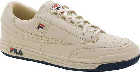 Fila Mens Originale Fitness Lea Classic Sneaker Bianco / Crema Navy